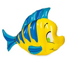 Disney Flounder Pool Float Large Inflatable Little Mermaid for sale online Kids Swimming, Swimming Pools, Boy Disney Characters, Cool Pool Floats, Beach Toys, Pool Toys, Water Toys, Disney Merchandise, Cool Pools