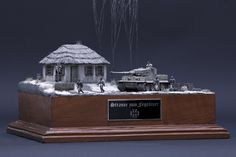 Ces Iudce updated his cover photo. Cover Photos, Military, Building, Models, Tutorials, Winter, Dioramas, Buildings, Army