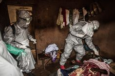 Chilling Photos From the Front Lines of the Ebola Outbreak      By Doug Bierend       09.12.14