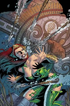 AQUAMAN #33 Written by JEFF PARKER Art and cover by PAUL PELLETIER and SEAN PARSONS