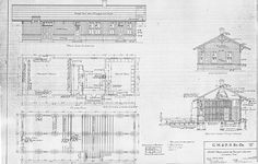1873 best gare depot architecture images on pinterest 1930s train depot blueprints beverly doty dryad kittitaswashington and lombard malvernweather Gallery