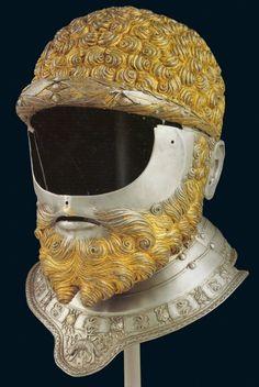 bearded helmet.