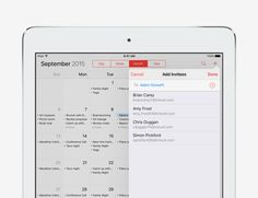 Get the gang back together - iOS 9 Tips and Tricks for iPad - Apple Support