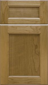 Natural Cherry Door [Inside: Bead / Outside: Cove Profiles]                               M and J Woodcrafts - Your Wholesale Cabinet Door Manufacturers