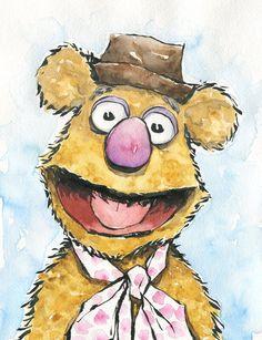 Fozzie Bear - The Muppets - Matthew J. Fletcher