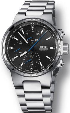 Oris Watch Williams F1 Chrono Bracelet #basel-15 #bezel-fixed…