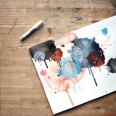 Monthly Art Challenge / Amanda Michele Art