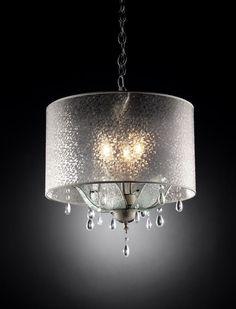 3 Light Pedal Crystal Chandelier/ Pendant Ceiling Light Fixture New! #OKLighting