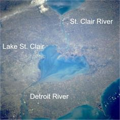 Heart-shaped Lake St. Clair My lake!  Where love of boating and water came from
