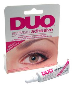 Love this Duo Lash Dark-Tone Adhesive by Flirty Eyes Lashes on #zulily! #zulilyfinds