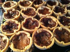 Baby Cakes in Almonte - The perfect anytime treat! Flaky, melt in your mouth pastry houses the perfect buttertart filling. Traditional raisin, pecan or plain Melt In Your Mouth, Baby Cakes, Ottawa, Raisin, Pecan, Canada, Houses, Treats, Traditional