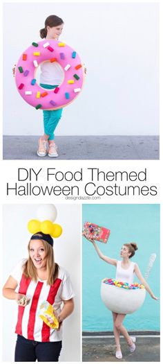 10 of my very favorite DIY food themed Halloween costumes that are cute, simple, and easy to make. You would never guess that they are homemade!