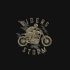 bmd design, stepart, rider on the storm; Motorcycle Art, Motorcycle Design, Rider Quotes, Riders On The Storm, Bike Style, Biker Chick, Vintage Posters, Rum Rum, Art Drawings