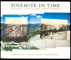 "Mark Klett and Byron Wolfe are the pioneers of the post-modern practice of ""re-photography"" which involves locating the exact locations and time of historical photographs, and making new photographs which are layered with old ones to show the transformations. The work culminates in Yosemite (2005) and the Grand Canyon (2013)."