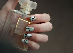 Geo Colorblocked Nails (Tutorial) | Wonder Forest: Design Your Life.