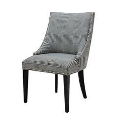Eichholtz Chair Bermuda Dixon Black & White Blend