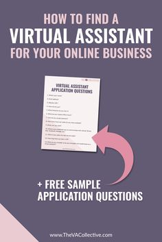 How to Find a Virtual Assistant for Your Online Business // The VA Collective