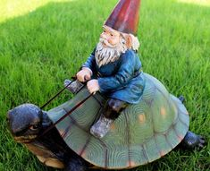 Garden Gnome Statue Dwarf Sculpture sorry . Outdoor Garden Decor, Outdoor Gardens, Gnome Garden, Lawn And Garden, Gnome Statues, Plant Table, Lawn Ornaments, Spring Garden, Dwarf