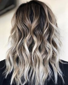 Ombre Hair Long Bob, Blond Ombre, Brown Ombre Hair, Brown Blonde Hair, Brunette Hair, Balayage Hair Brunette With Blonde, Brunette Color, Short Hair, Hair Color Ideas For Brunettes Balayage
