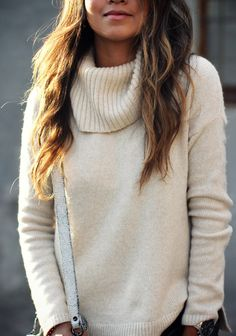 love turtleneck sweaters and this one looks comfy