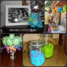 Monster's Inc. Birthday Bash - momccupation.com