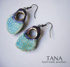 Tana šperky-keramika/zlato
