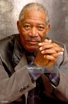 Actor/excutive producer Morgan Freeman during 2003 Sundance Film Festival - 'Levity' - Portraits at Yahoo Movies Portrait Studio in Park City, Utah, United States.