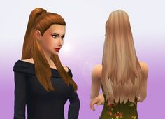 Ariana hair at My Stuff via Sims 4 Updates