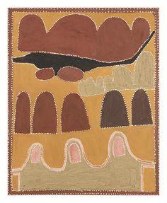 Queenie McKenzie (circa 1930-1998) Winnaba Springs, 1996