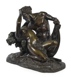 Jean-Jacques Pradier, called James  SWISS  SATYR AND BACCHANTE  Estimate  4,000 — 6,000  GBP