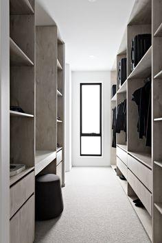 Walk In Robe Designs, Walk In Wardrobe Design, Bedroom Closet Design, Closet Designs, Home Room Design, Bathroom Interior Design, Master Bedroom Wardrobe Designs, Walking Closet, Wadrobe Design