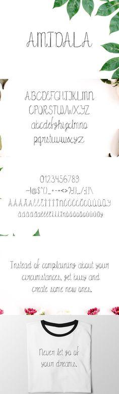 Amidala Script Font @creativework247