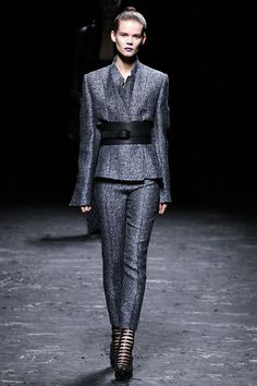 Kimono-wrap jacket with obi-style belt: from Haider Ackermann's Spring 2013 Ready-to-Wear collection