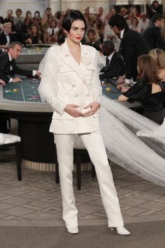 Kendall Jenner slays in head to tow Chanel