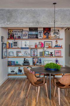 studio ro+ca — Hugo Gloss Rainbow Kitchen, Living Room Inspiration, Diy Bedroom Decor, Home Decor, Kitchen Flooring, Decoration, Home Interior Design, Living Spaces, Sweet Home