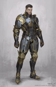 Fantasy Heroes, Fantasy Male, Fantasy Armor, High Fantasy, Fantasy Weapons, Fantasy Character Design, Character Design Inspiration, Character Art, Medieval Armor