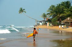 Morning, Hikkaduwa, Sri Lanka (www.secretlanka.com)