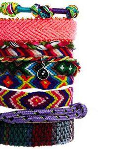 Image 4 ofRiver Island Friendship Bracelet Multipack Bracelet