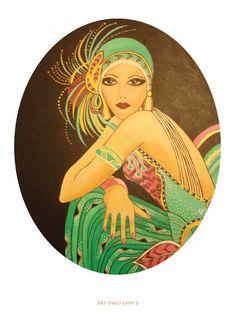 Art Deco Lady 2