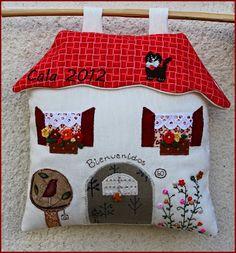 *Caprichos de Calabacina*: Mi casita de patchwork