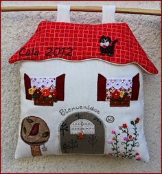 1000 images about casa on pinterest felt house house - Casa de patchwork ...