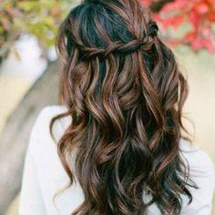 Dark Brown Hair With Caramel Highlights 2015