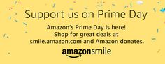 When you #StartWithaSmile on #PrimeDay, Amazon donates to Casting for Recovery. #PrimeDay2017