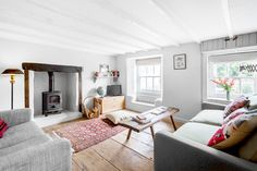 The Hobbacott Lane Residence, a cosy family holiday cottage in north Cornwall, via Kid & Coe