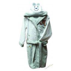 Accappatoio Teddy Baby #CarilloHome #mondobaby #baby www.carillohome.com #love #style #Idearegalo #idea #regalo