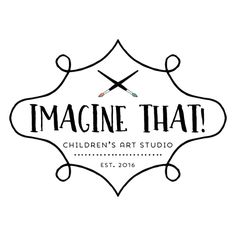 Premade Logo - Paintbrushes Artist Logo - Customized with Your Business Name!
