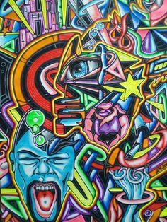 Eye 2 by Abstract Graffiti Illustrations, Eye Illustration, Visionary Art, Got Print, Cool Artwork, Custom Framing, Psychedelic, Spiderman, Graffiti