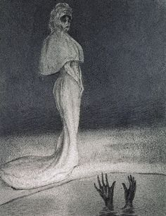 The Downfall,   -    Alfred Kubin , 1903