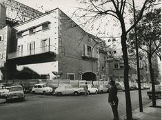 El Frontón Recoletos (1935) ofreció entretenimiento a los madrileños, en la calle Villanueva, hasta 1973.