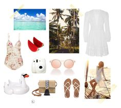 summer holiday by zoe-alexa-robinson on Polyvore featuring Zimmermann, Billabong, Stella & Dot, Sunnylife and Made In Paradise